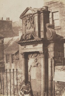 A Tomb in Greyfriars, Edinburgh, by David Octavius Hill, and  Robert Adamson - NPG P6(222)