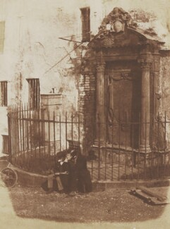 The Mylnes' Tomb - 'Here are buried four of the Master Architects or Master Builders to the Successive Scottish Monarchs', by David Octavius Hill, and  Robert Adamson - NPG P6(224)