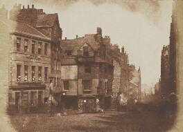 John Knox's House, Edinburgh, by David Octavius Hill, and  Robert Adamson - NPG P6(231)