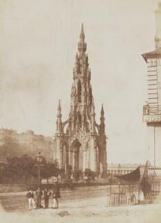 The Scott Monument, Edinburgh, by David Octavius Hill, and  Robert Adamson - NPG P6(233)