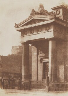 Royal Institution, Edinburgh, by David Octavius Hill, and  Robert Adamson - NPG P6(235)