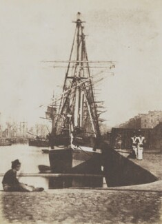 Leith Docks, by David Octavius Hill, and  Robert Adamson - NPG P6(241)