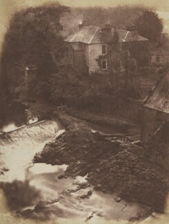 Colinton Manse, by David Octavius Hill, and  Robert Adamson - NPG P6(236)