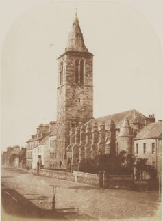 College Church, St Andrews, by David Octavius Hill, and  Robert Adamson - NPG P6(249)