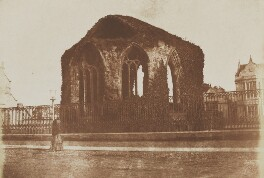 St Mary's Chapel, St Andrews, by David Octavius Hill, and  Robert Adamson - NPG P6(252)