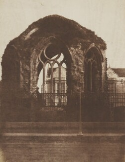 St Mary's Chapel, St Andrews, by David Octavius Hill, and  Robert Adamson - NPG P6(253)