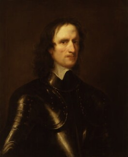 Unknown man, formerly known as John Hampden, attributed to Robert Walker, 1640s - NPG 1600 - © National Portrait Gallery, London