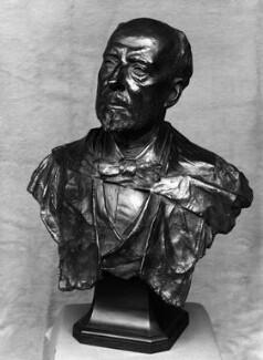 Sir James Dewar, by George D. MacDougald - NPG 2119