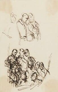 John Jeffreys Pratt, 1st Marquess Camden; Edward Southwell, 21st Baron de Clifford; Thomas Hampden, 2nd Viscount Hampden, by Sir George Hayter, circa 1820 - NPG 2662(23) - © National Portrait Gallery, London