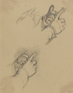 Hands of Marchese di Spineto, by Sir George Hayter, circa 1830 - NPG 2662(31) - © National Portrait Gallery, London