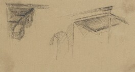 Architectural features, left gallery, by Sir George Hayter - NPG 2662(33)