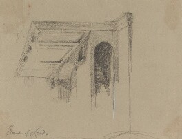 Architectural features, right gallery, by Sir George Hayter - NPG 2662(36)
