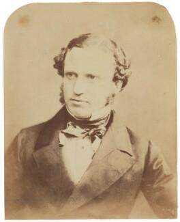 Edward Henry Stanley, 15th Earl of Derby, by (George) Herbert Watkins, late 1850s - NPG P301(3) - © National Portrait Gallery, London