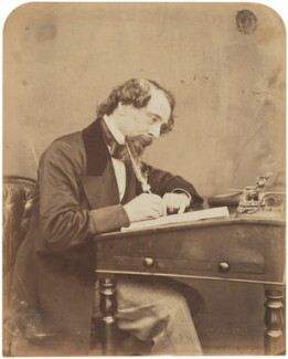 Charles Dickens, by Herbert Watkins, 1858 - NPG  - © National Portrait Gallery, London