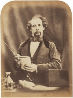 Charles Dickens, by Herbert Watkins, 29 April 1858 - NPG  - © National Portrait Gallery, London