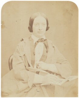 Amelia Edwards, by Herbert Watkins - NPG P301(23)