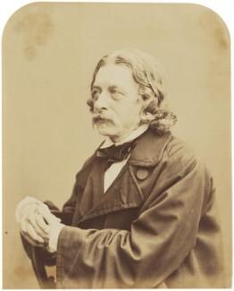 John Abraham Heraud, by Herbert Watkins - NPG P301(47)