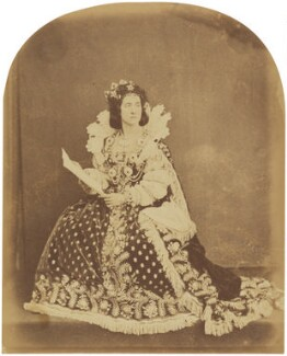 Adelaide Ristori, by Herbert Watkins, late 1850s - NPG P301(49) - © National Portrait Gallery, London