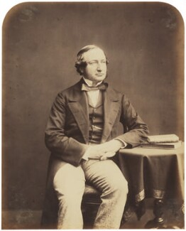 George Drought Warburton, by Herbert Watkins - NPG P301(53)