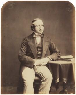 George Drought Warburton, by (George) Herbert Watkins, late 1850s - NPG P301(53) - © National Portrait Gallery, London
