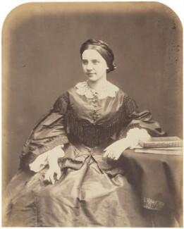Victoire, Lady Crampton, by Herbert Watkins - NPG P301(57)