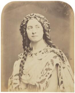 Adelaide Ristori, by Herbert Watkins - NPG P301(65)