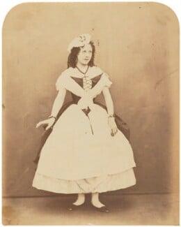 Marie Effie (née Wilton), Lady Bancroft, by Herbert Watkins - NPG P301(68)