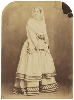Adelaide Ristori, by Herbert Watkins - NPG P301(93)