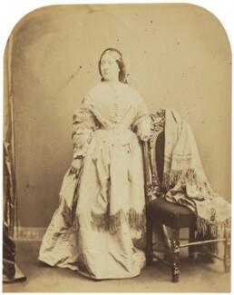 Adelaide Ristori, by Herbert Watkins - NPG P301(95)