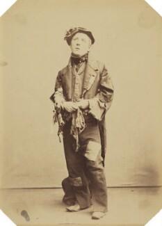 (Thomas) Frederick Robson (né Brownbill), by Herbert Watkins - NPG P301(132)