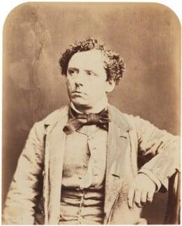 (Thomas) Frederick Robson (né Brownbill), by Herbert Watkins - NPG P301(133)