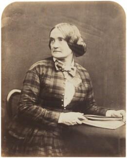 Charlotte Saunders Cushman, by Herbert Watkins - NPG P301(135)