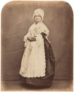 Clara Selby (Sarah Susannah Selby), by Herbert Watkins - NPG P301(154)
