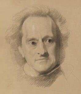 Unknown man, by Samuel Laurence - NPG 2435