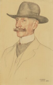 Unknown man, by William Strang - NPG 2927b