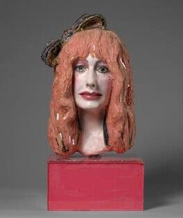 Zandra Rhodes, by Andrew Logan, 1989 - NPG 6221 - Photograph © National Portrait Gallery, London