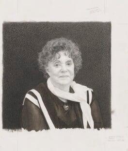 Dame Muriel Spark, by Bob Tulloch - NPG 6226