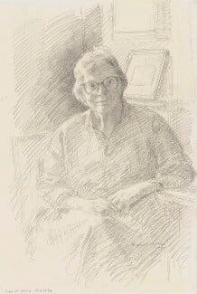 Helen Mary Warnock, Baroness Warnock, by Richard Foster - NPG 6227