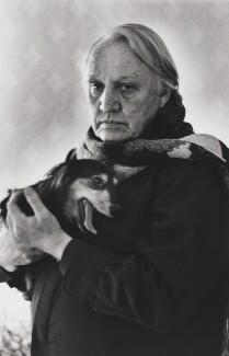 Joseph Losey, by Alice Springs (June Newton) - NPG P548