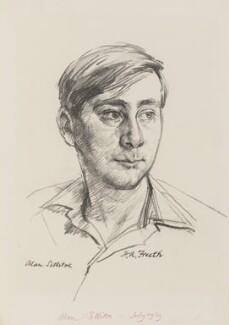 Alan Sillitoe, by Hubert Andrew Freeth - NPG 6554