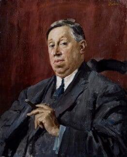 Francis Henry Crittall, by Augustus Edwin John, 1919 - NPG 6240 - © National Portrait Gallery, London