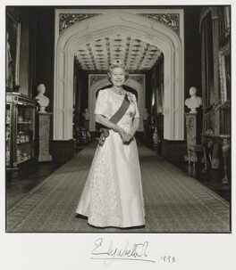 Queen Elizabeth II, by Terry O'Neill - NPG P549