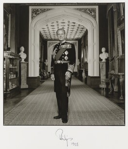 Prince Philip, Duke of Edinburgh, by Terry O'Neill - NPG P550