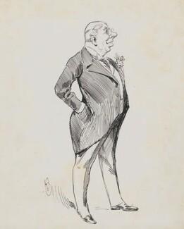 Bayly N. Akroyd, by Harry Furniss - NPG 6251(1)