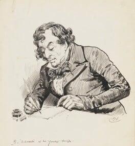 Benjamin Disraeli, Earl of Beaconsfield, by Harry Furniss - NPG 6251(4)
