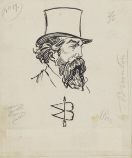 Sir William Brunton, by Harry Furniss - NPG 6251(9)