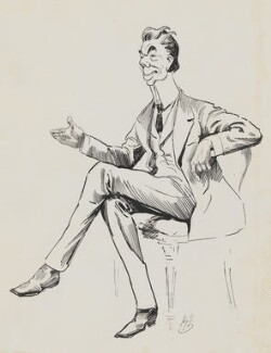 Ernest Holman Clark, by Harry Furniss - NPG 6251(11)