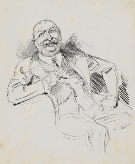 William Knox D'Arcy, by Harry Furniss - NPG 6251(15)