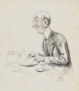 John Dixon, by Harry Furniss,  - NPG  - © National Portrait Gallery, London