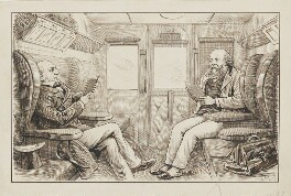William Ewart Gladstone; Robert Gascoyne-Cecil, 3rd Marquess of Salisbury, by Harry Furniss - NPG 6251(21)